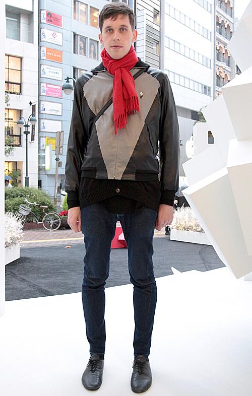 03535 29歳 男性 イギリス人/ファッションデザイナー(IN,PROCESS BY HALL OHARA