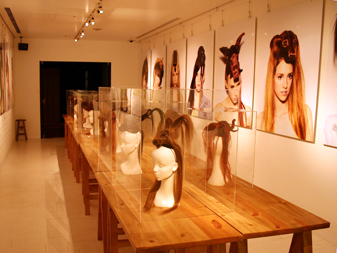 """ANIMAL BEHAVIOR"" HAIR HAT exhibition"