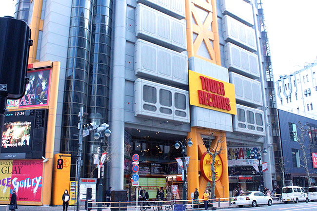 TOWER RECORDS SHIBUYAリニューアル