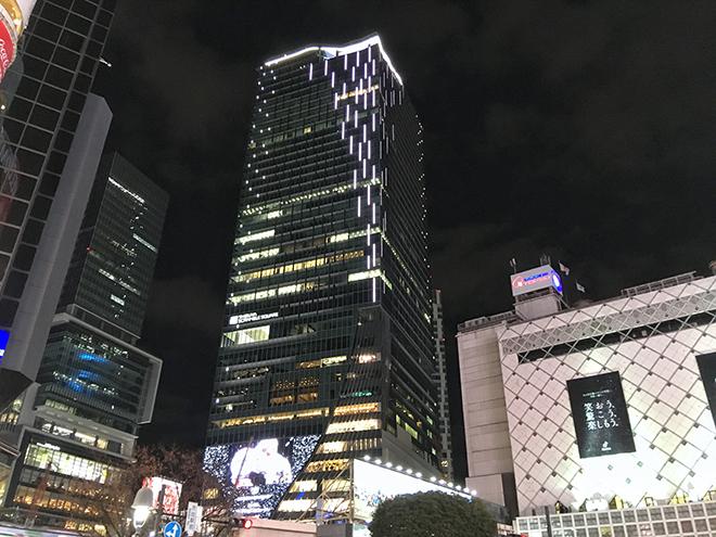渋谷 スクランブル スクエア